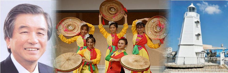 歴史の町・堺の活性化やベトナムとの友好に頑張っています。